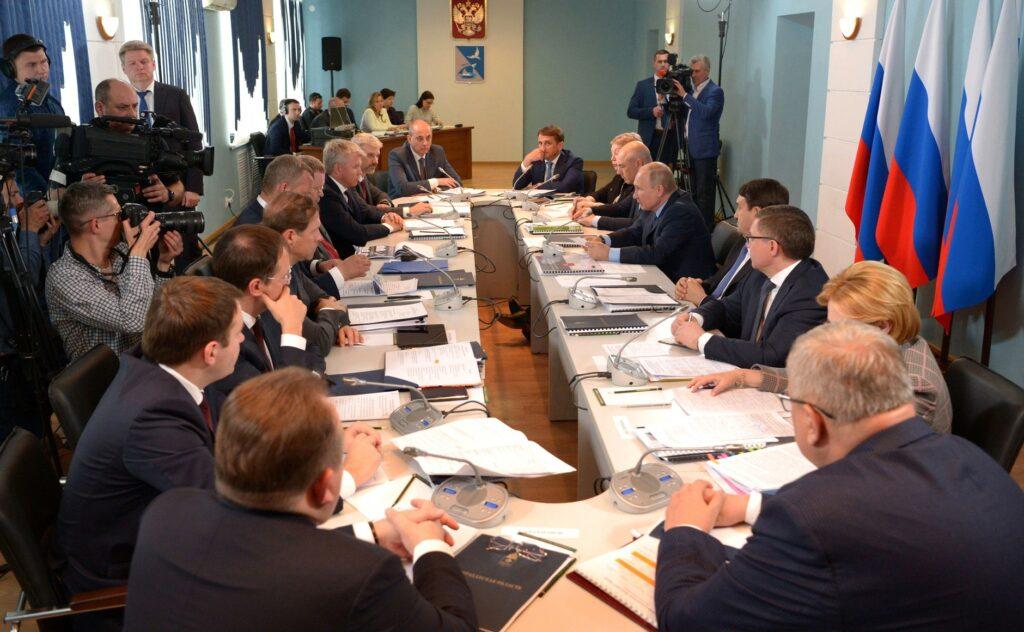 Совещание по вопросам социально-экономического развития Астраханской области: каспийские аспекты