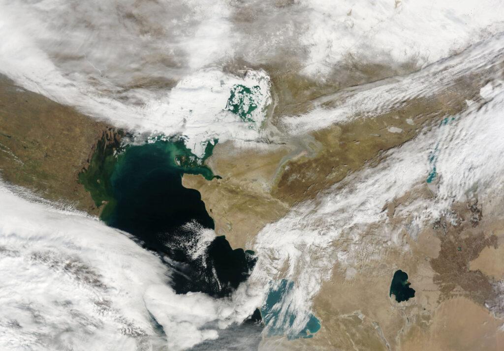Флюиды Каспийского моря