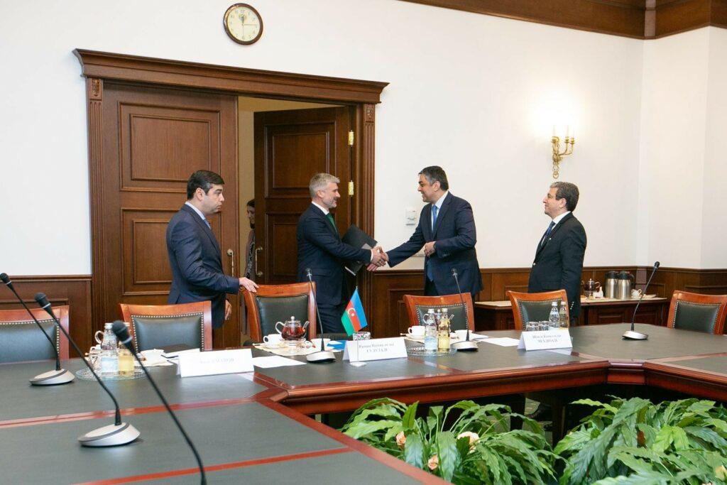 В Москве обсудили вопросы сотрудничества России и Азербайджана в области транспорта