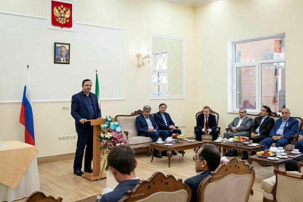 В российском консульстве в Реште обсудили перспективы российско-иранского сотрудничества
