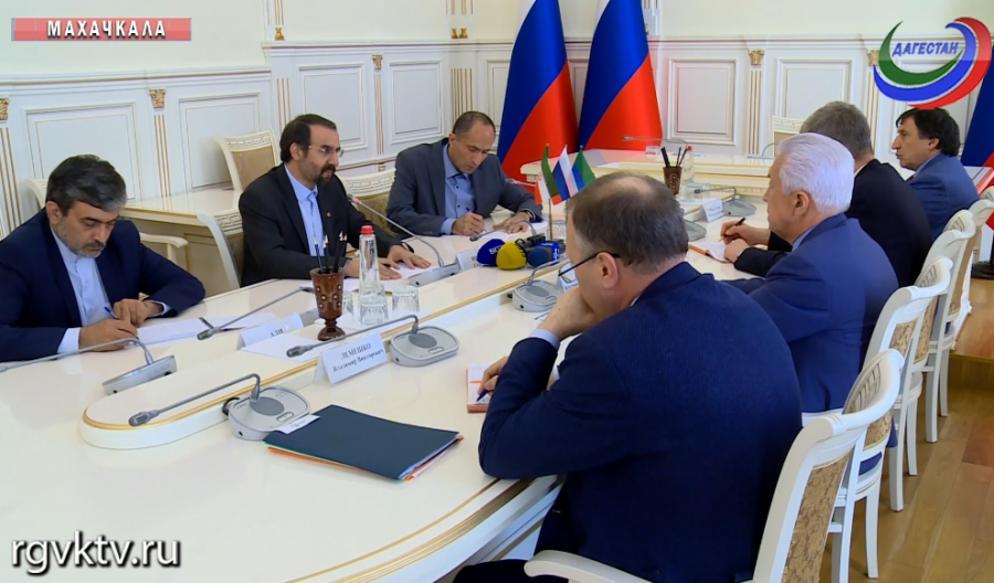 Республику Дагестан посетил посол Ирана в России Мехди Санаи
