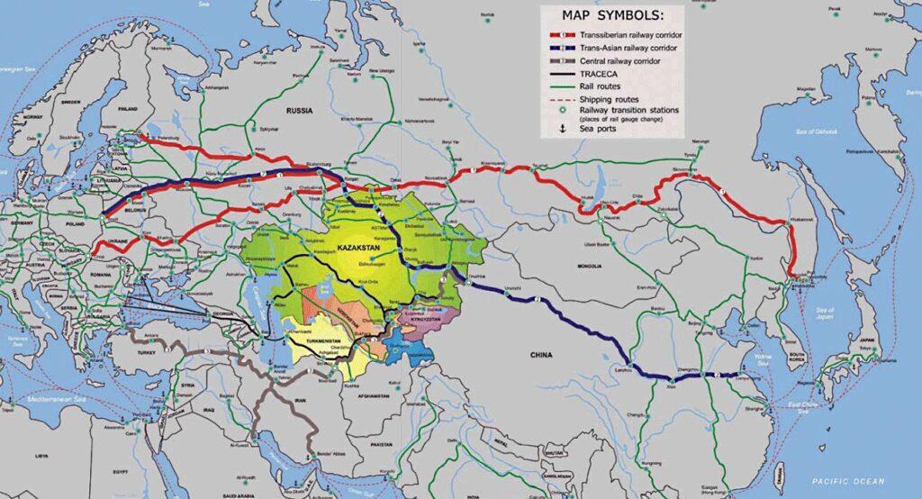 Незаменимая держава. «Стальные коридоры» Евразии и роль России