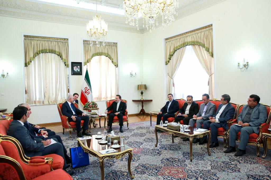 Азербайджанская экономическая делегация провела переговоры с иранскими коллегами