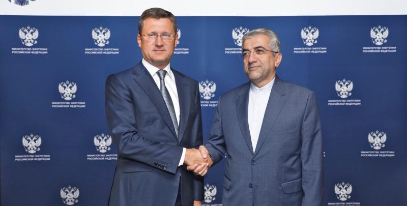 Александр Новак встретился с министром энергетики Ирана Резой Ардаканиани