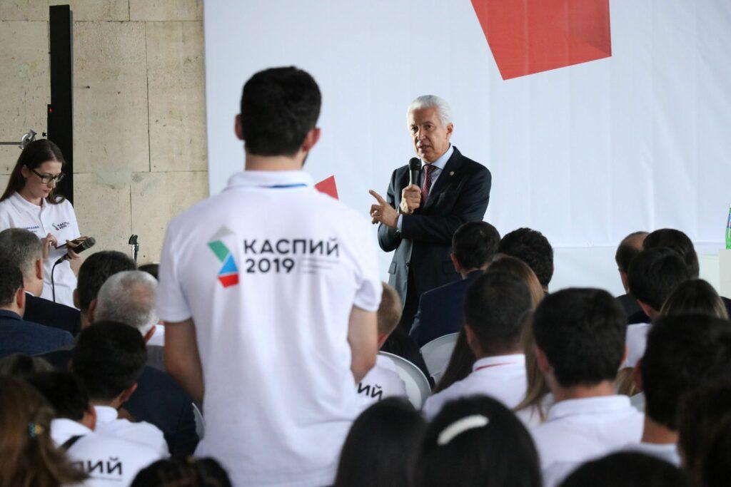 Молодежный форум «Каспий» открылся в седьмой раз в Дагестане