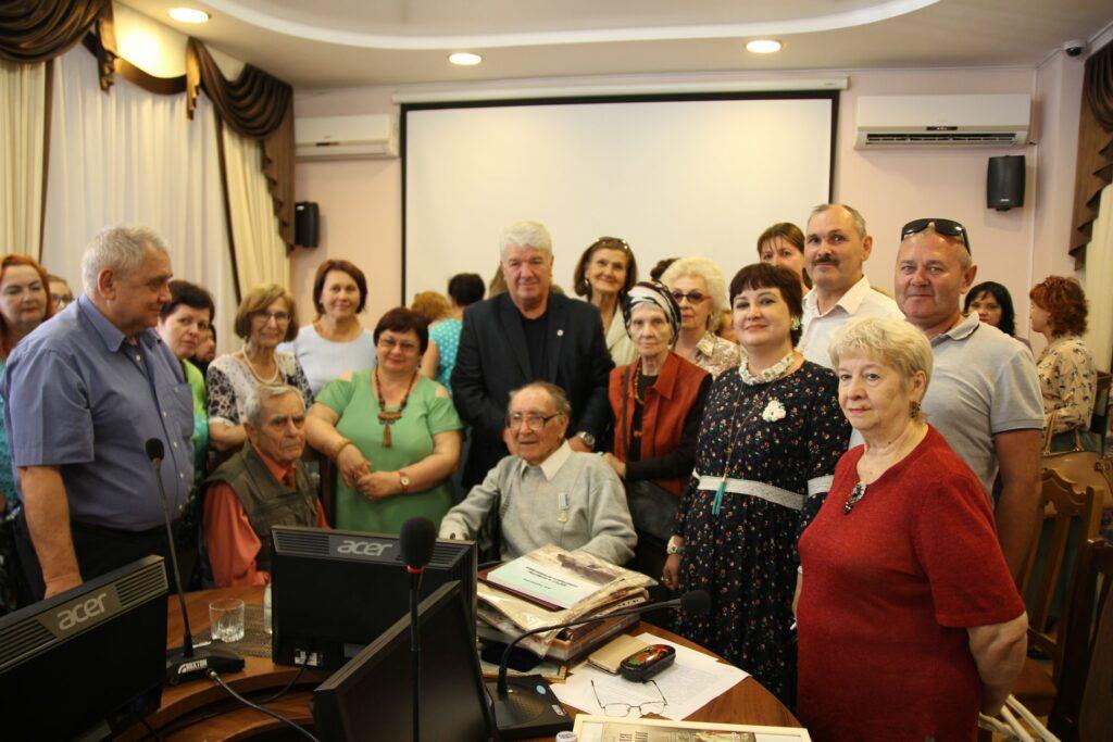 Астраханскому писателю-краеведу Маркову А.С. исполнилось 88 лет