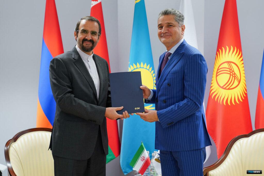 Вступило в силу соглашение о зоне свободной торговли между ЕАЭС и Ираном.