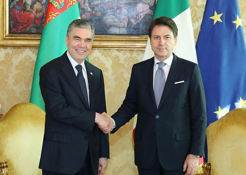 Состоялся официальный визит Президента Туркменистана в Итальянскую Республику