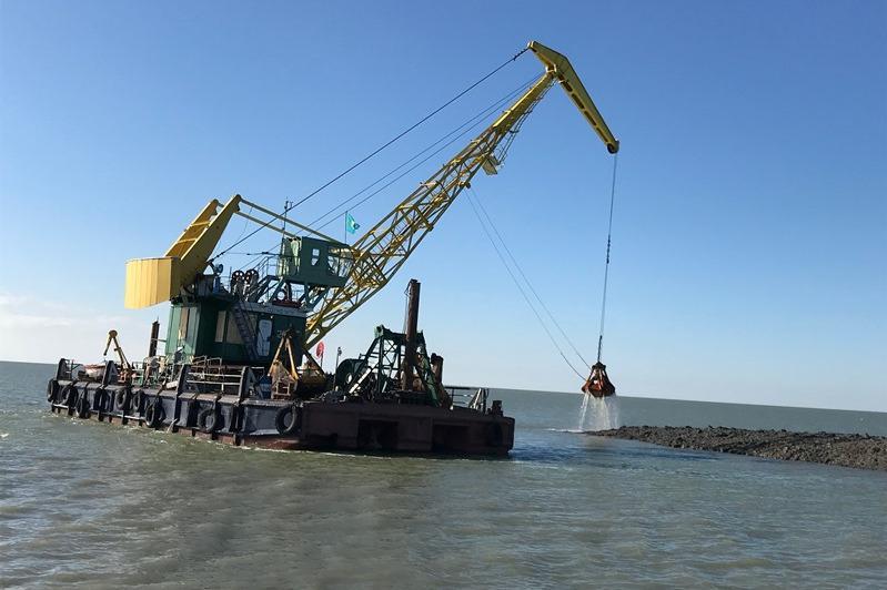 В Казахстане началась расчистка Урало-Каспийского канала