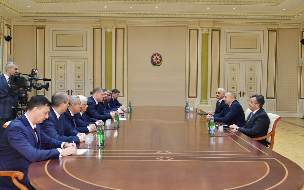 Глава Астраханской области посетил Азербайджанскую Республику