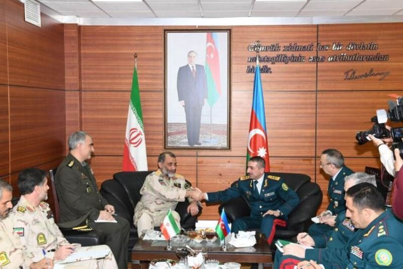 Состоялась рабочая встреча руководителей пограничных ведомств Азербайджана и Ирана