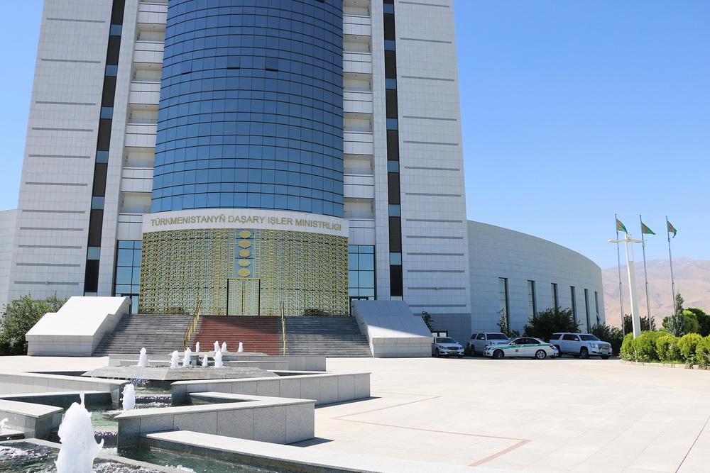 В МИД Туркменистана началось очередное заседание представителей прикаспийских государств
