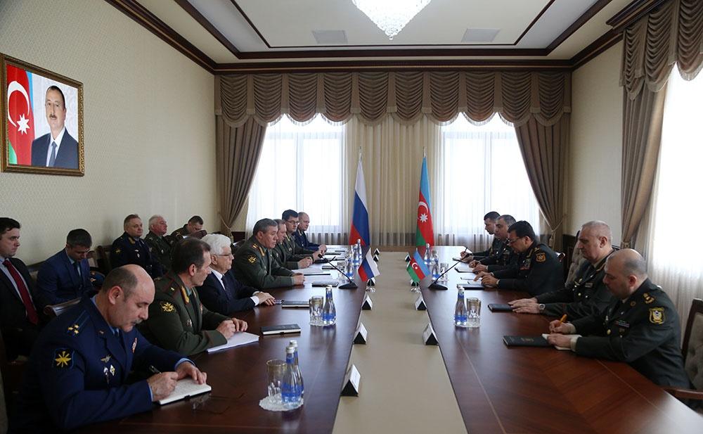 Состоялись двусторонние консультации по вопросам военного сотрудничества стран Каспия