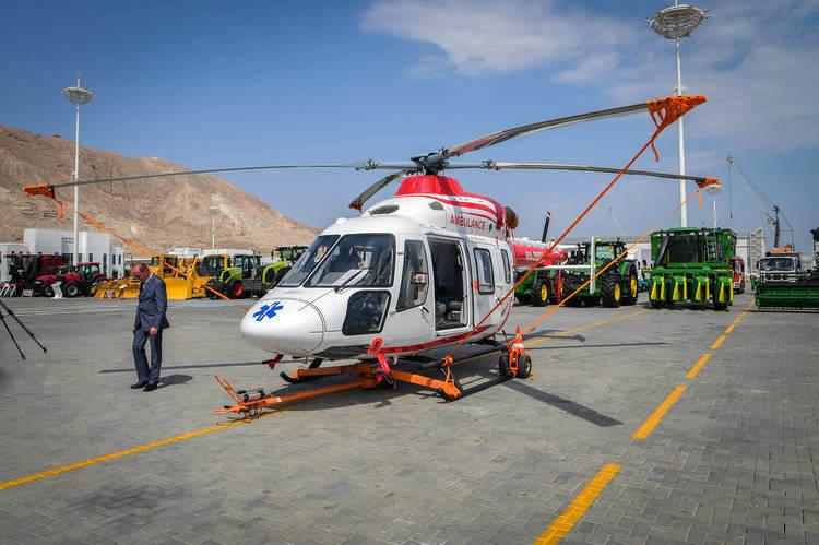 Президент Туркменистан поручил закупить у России медицинские вертолеты Ми 17-1В