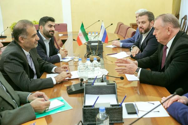 Состоялась встреча главы Торгово-промышленной палаты РФ с послом Ирана в России