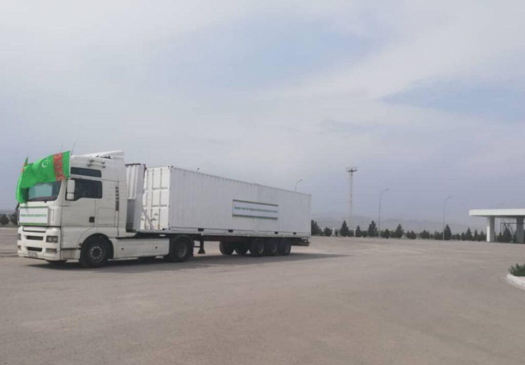 Туркменистан оказал гуманитарную помощь Ирану в рамках борьбы с коронавирусом