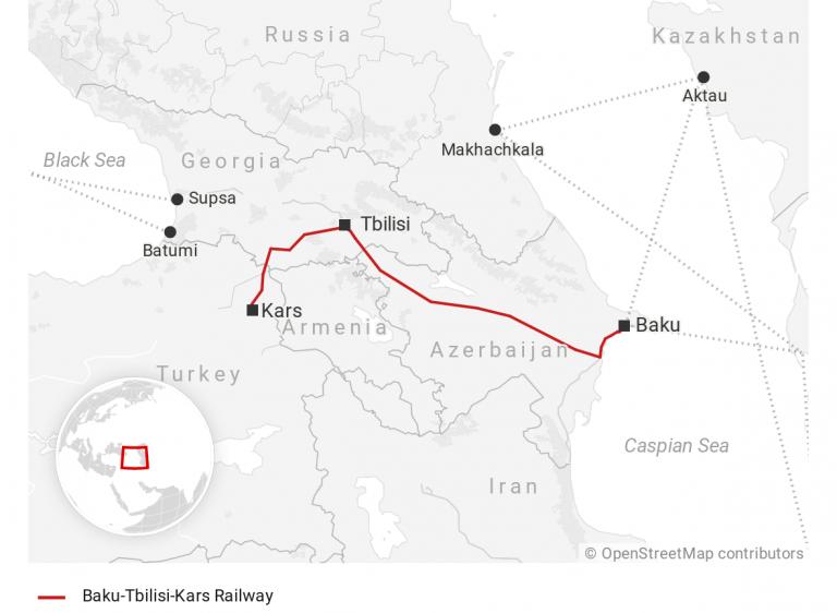 Россия и Азербайджан развивают сотрудничество по проекту Баку-Тбилиси-Карс