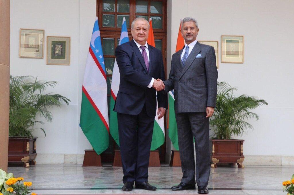 Место Узбекистана в центральноазиатской политике Индии