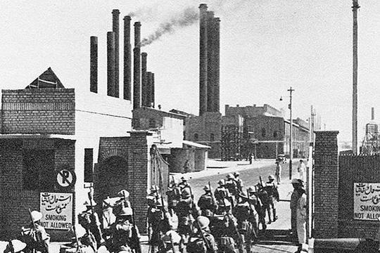 Иран и Вторая мировая война (историческая хроника)