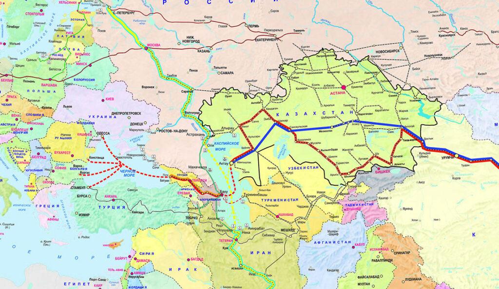 Состоялась рабочая встреча по МТК «Каспийское море – Чёрное море»