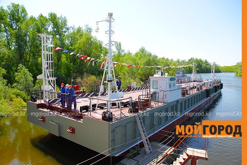 Пункт маневренного базирования спустили на воду в казахстанском Уральске