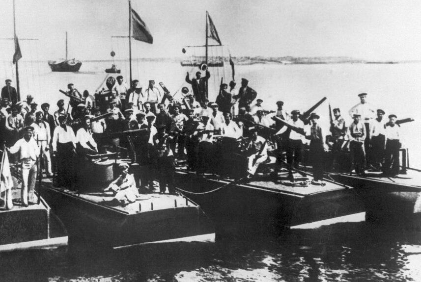 Энзелийская операция 1920 года в воспоминаниях командира эсминца «Деятельный» — часть II