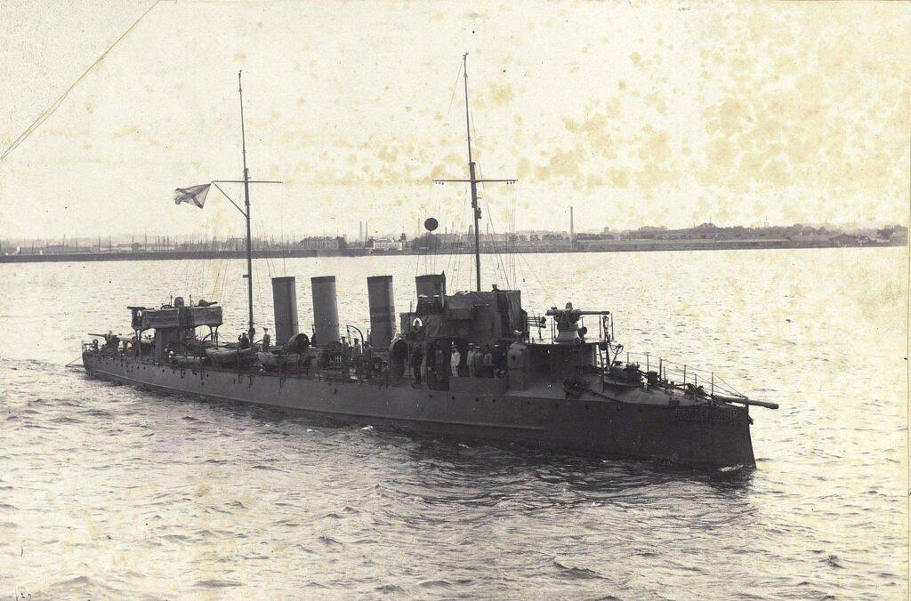 Энзелийская операция 1920 года в воспоминаниях командира эсминца «Деятельный» — часть III
