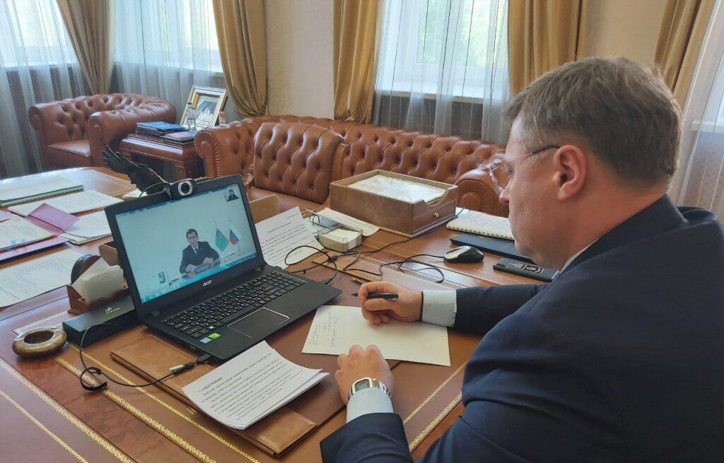 Обсуждены вопросы развития сотрудничества между Астраханской областью и Туркменистаном