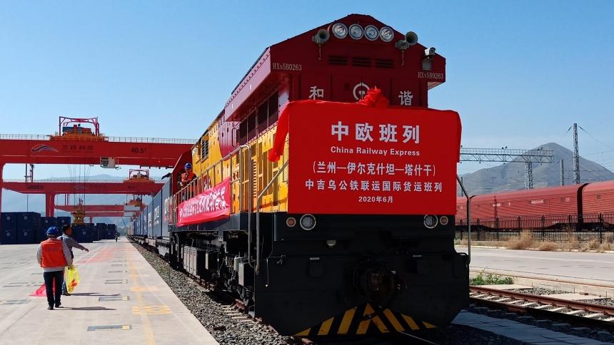 Запущен железнодорожный маршрут «Ланьчжоу – Ташкент – Ланьчжоу» через Киргизию