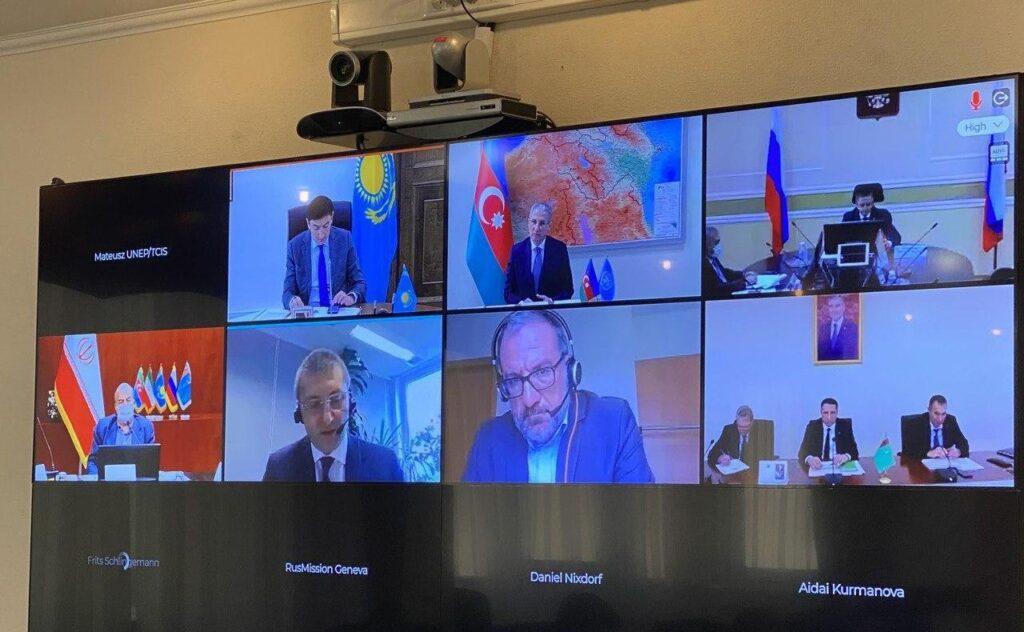 Состоялась неофициальная встреча министров окружающей среды прикаспийских государств