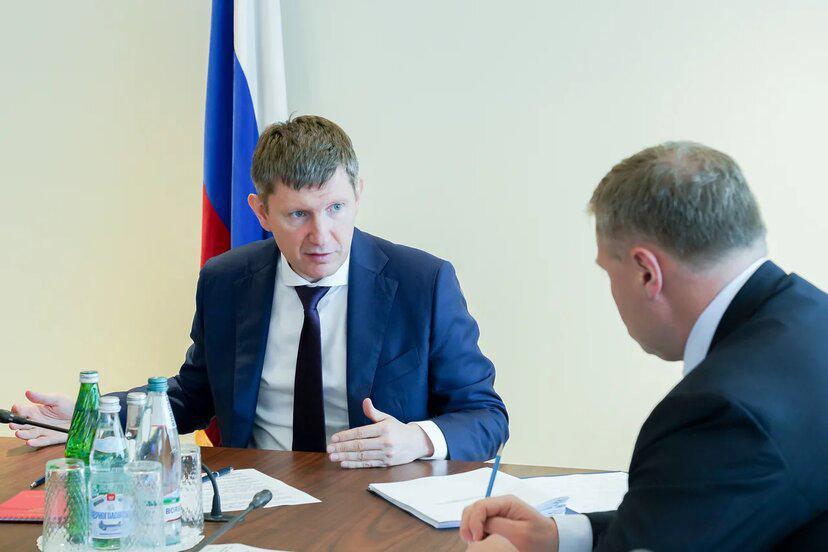 Игорь Бабушкин и Максим Решетников провели рабочую встречу