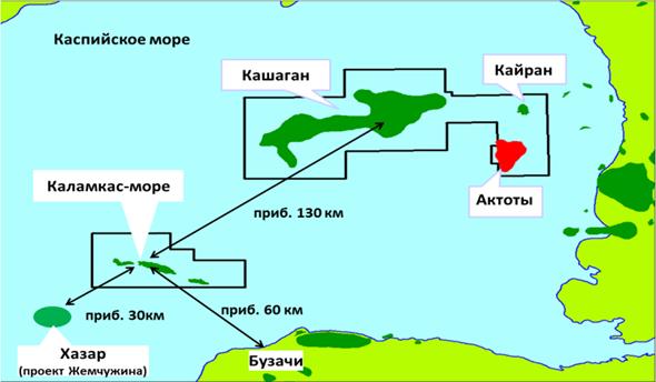 Компания NCOC не будет проводить консервацию недр Каламкас-море
