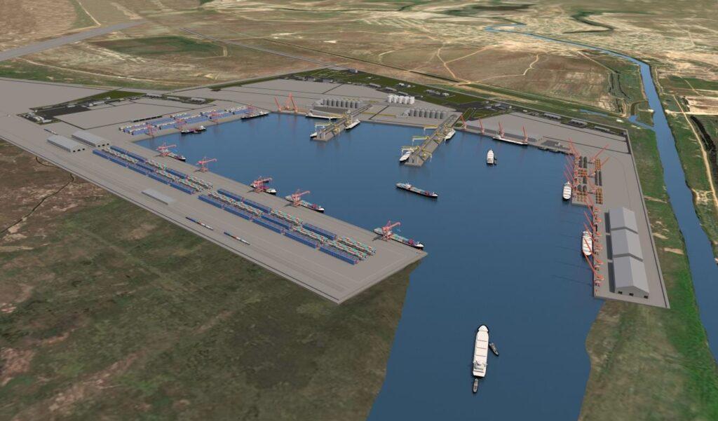 Перспективы порта Лагань на Каспии в фокусе внимания американских экспертов