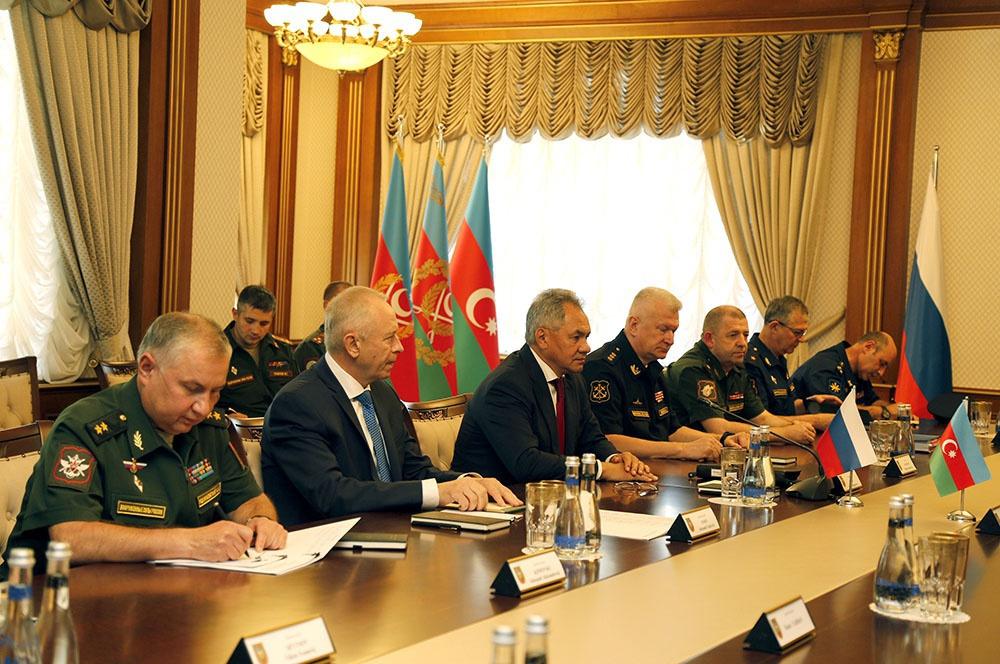 Особенности военно-политических контактов руководства России и Азербайджана