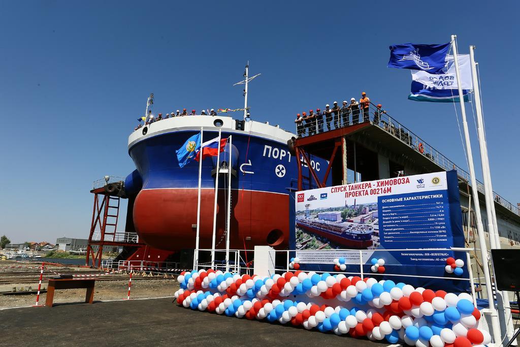 Астраханские судоверфи могут получить заказы на электрокатамараны для Каспия