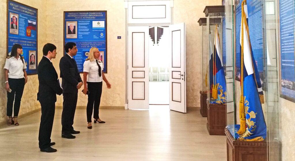 Консул Туркменистана в Астрахани провёл переговоры с астраханскими ВУЗами