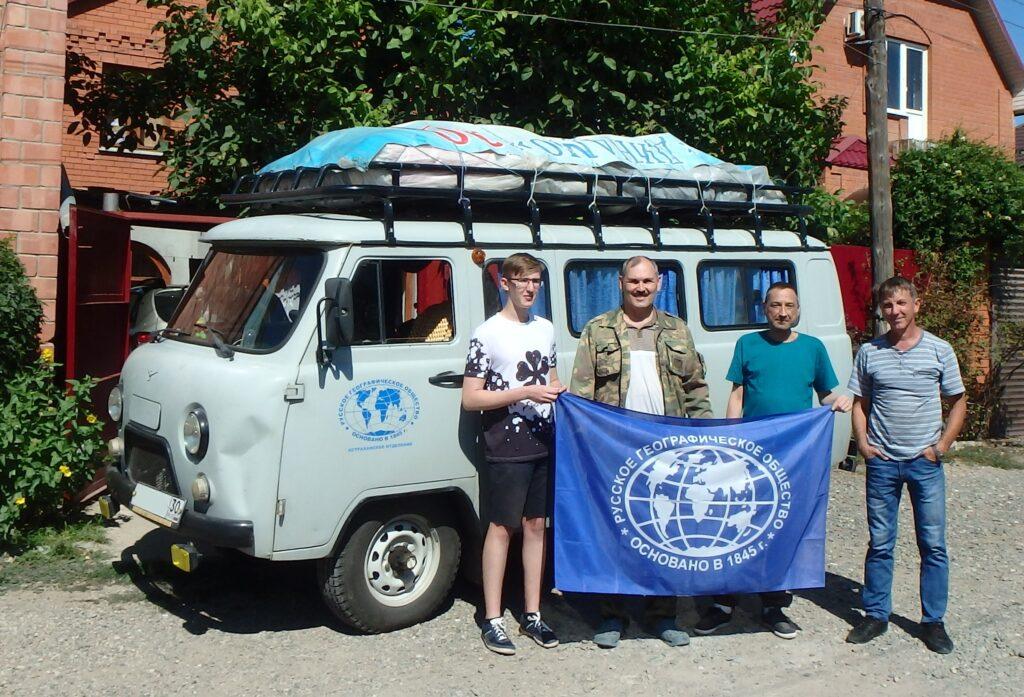 Члены Астраханского отделения РГО провели экспедицию «Баскунчак-2020, лето»