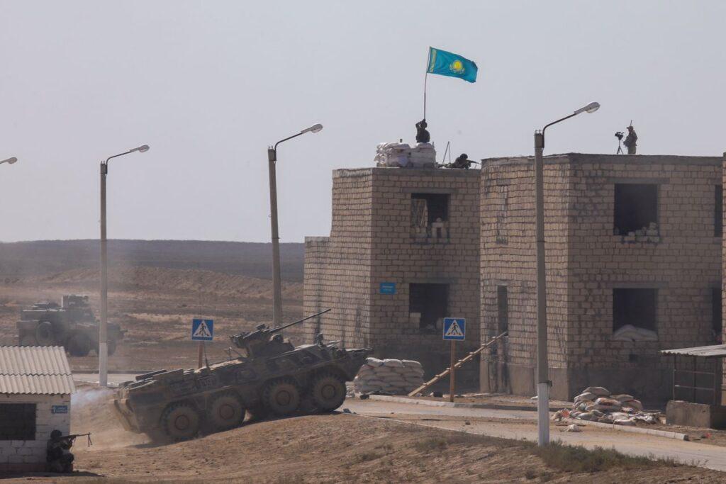 В Мангистауской области Казахстана прошли масштабные учения
