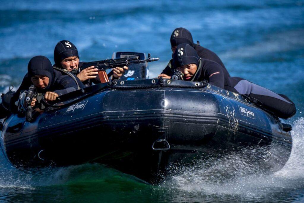 Подводный спецназ на Каспийском море и его подготовка