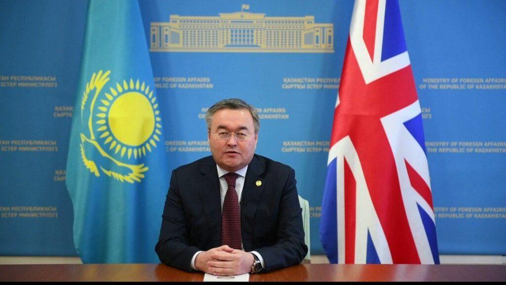 Казахстан и Великобритания продолжают наращивать сотрудничество