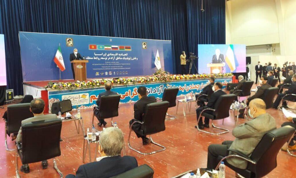 В портовом иранском городе Энзели состоялась международная конференция ЕАЭС-ИРИ