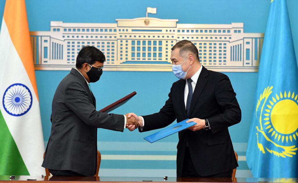 Казахстан и Индия намерены укреплять стратегическое партнерство
