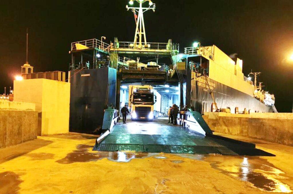 В рамках морского маршрута коридора Север-Юг открыта паромная линия Иран – Казахстан