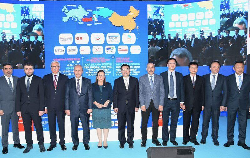 Отправлен первый экспортный поезд из Турции в Китай через Каспий