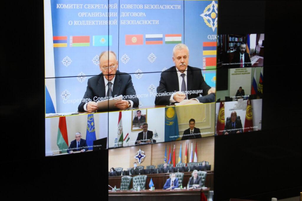 Угроза международного терроризма в регионе – взгляд секретарей советов безопасности ОДКБ