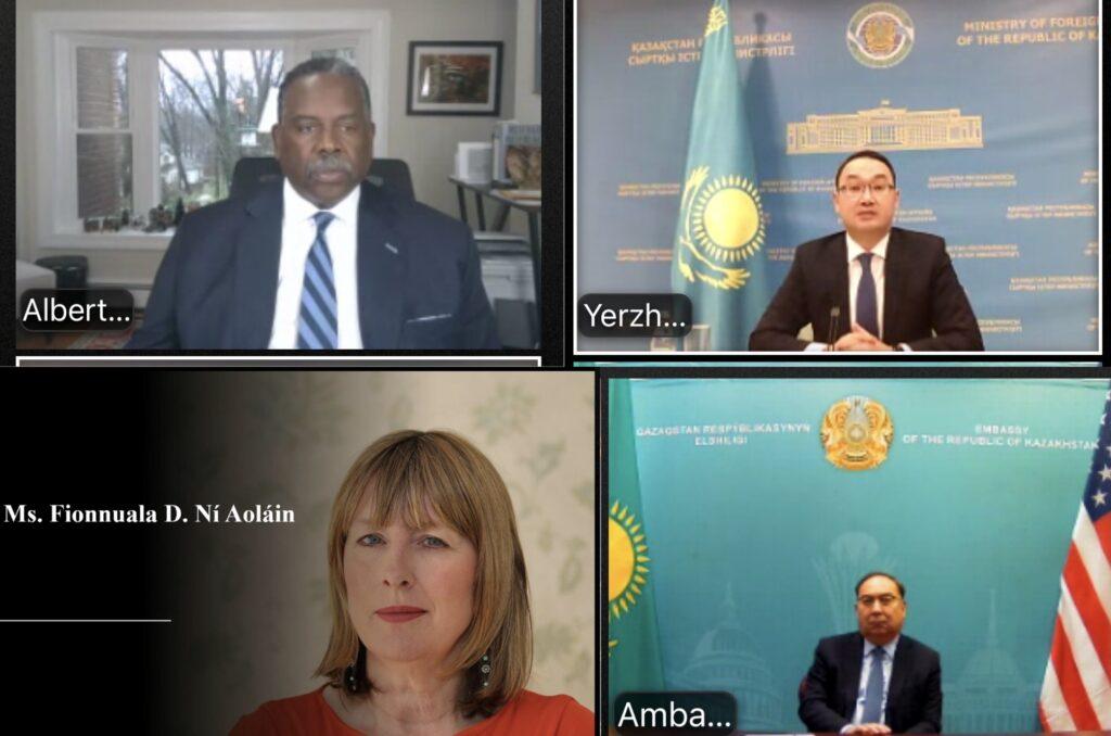 Казахстан и США обсудили опыт реабилитации и реинтеграции граждан из зон боевых конфликтов