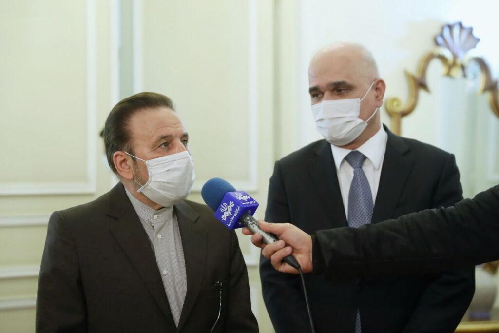 Состоялся визит азербайджанской делегации в Исламскую Республику Иран