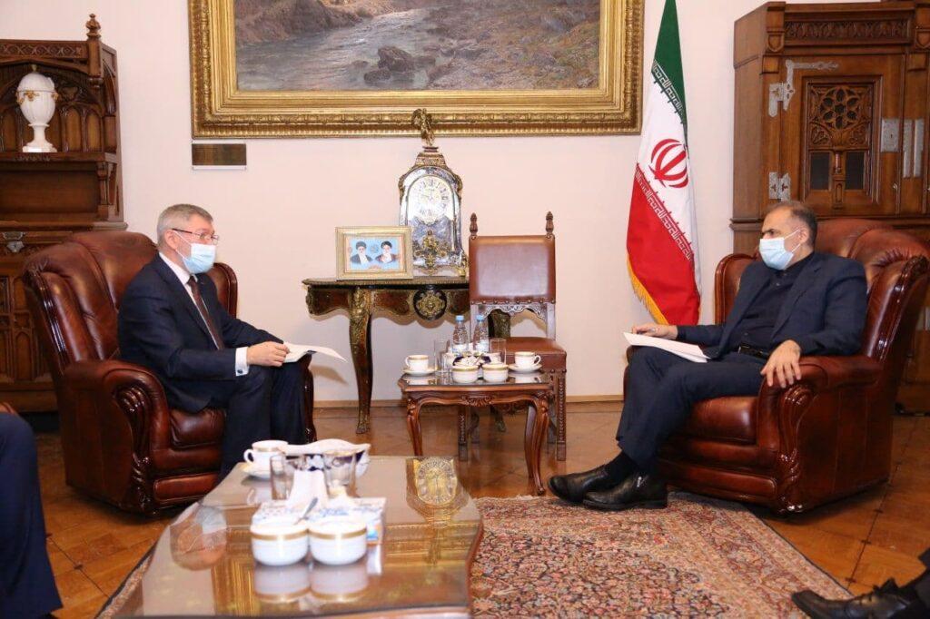 Состоялась встреча посла Ирана в России с представителем руководства РЖД России