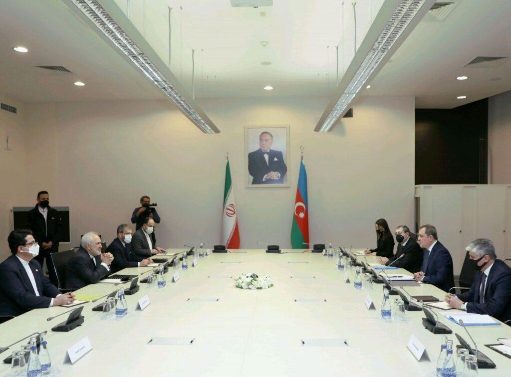 Мохаммед Джавад Зариф совершил визит в Азербайджанскую Республику