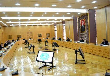 Состоялось заседание Межведомственной комиссии Туркменистана по вопросам Каспия